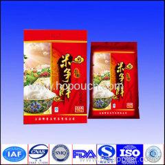 plastic rice package bag