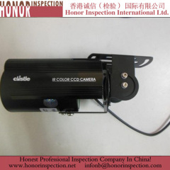 Pre Shipment Inspection for IR Camera