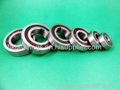 One way bearings and clutches