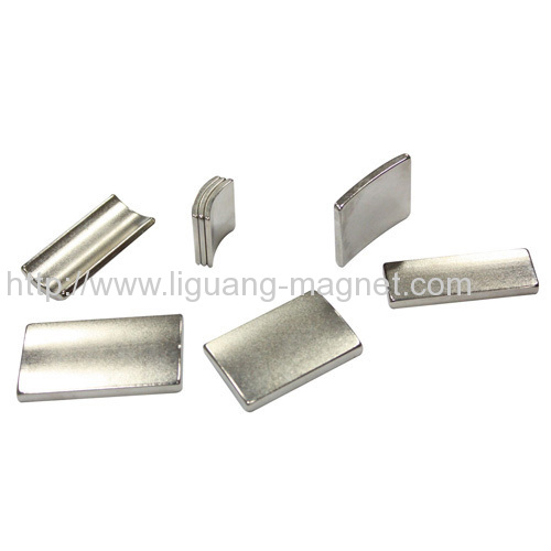Good quality arc size use for Sintered Ndfeb magnet