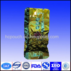 heat sealable foil tea bags