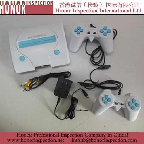 Pre Shipment Quality Inspection for TV Game