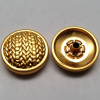 Spring Snap Button Pearlised Gold Color