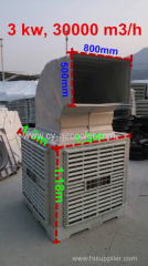 new 30000 m3/h industrial evaporative air cooling system