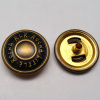Spring Snap Button Anti Brass Color