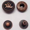 Spring Snap Button Anti Copper Color