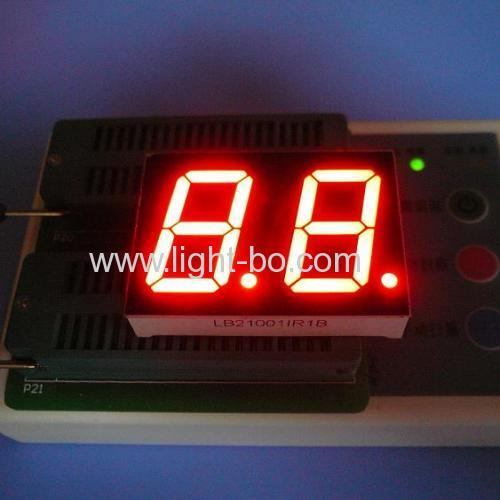Dual Digit 17-Segment LED Display Common Anode Super Red for digital indiator