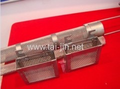 Titanium Basket for electroplating Ru/Pt/Ir