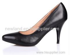 Ladies genuine leather pumps shoes