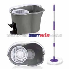 Hand Press Spin Mop magic mop 2014 new type