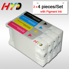 (4 pieces/set, 2 sets/lot) 220ml compatible ink cartridges for Epson 7450 9450 ink cartridge with pigment ink & chips