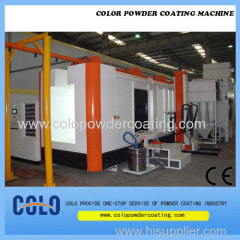 Turn-Key Powder coating Booth