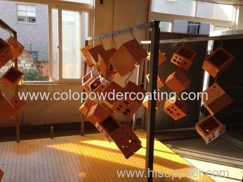 Complete Powder Coating Plant