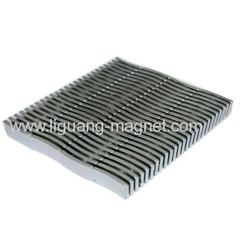Sintered Arc Ndfeb magnet for speaker