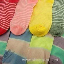 beauty girl colorful socks
