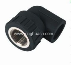 HDPE socket fusion fittings female elbow