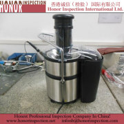 Pre Shipment  Inspection for Juice Extractor