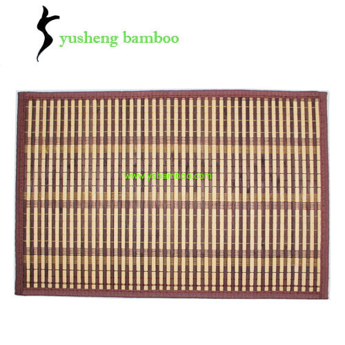 Bamboo Placemats brown color wholesale