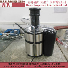 Excellent Pre Shipment Inspection for Juice Extractor