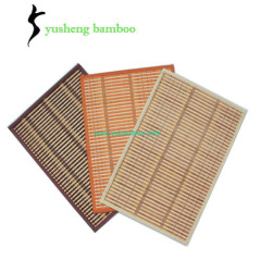 cleaning solid bamboo placemats