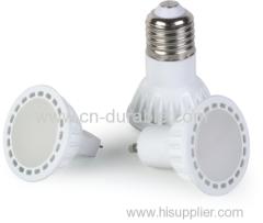 2w plastic led bulb e27 mr16 gu10 gu5.3 b22 led spotlight