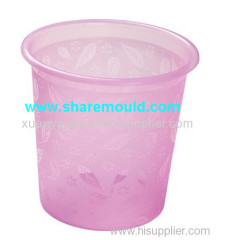 plastic injection dustbin mould