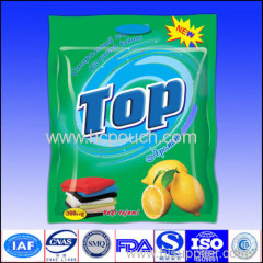 laundry detergent package bag