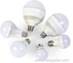 3w e27 plastic led bulb 5w b22 led bulb
