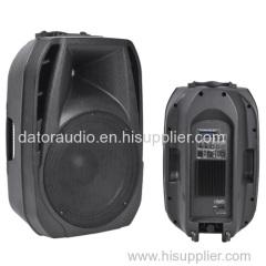 12-inch Full Range Plastic Molded PA Sound Box Professional Audio