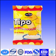 hot sale safety food grade foil chipspackaging pouch