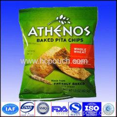 heat seal aluminum foil metalized potato chips bag with custom logo printed
