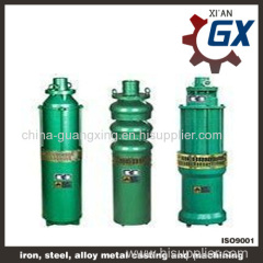 QJ submersible water pumpsand the electric pumps