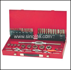 59Pcs/set of threading cutting taps and dies set