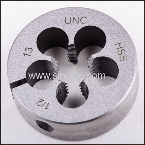 BS1127 UNC Machine round thread dies