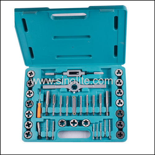 39pcs Metric tap and die set