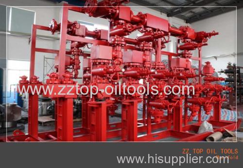 Well control kill manifold Well head equipment API 6A