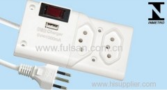 Inmetro Brazil Power Strip W2002
