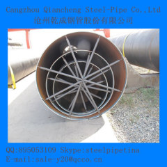 LSAW carbon steel pipe ASTM A53 GR.B