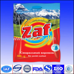 high quality 2.5 KG foil washing powdered pouch