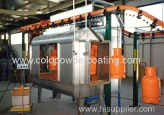 Semi-Automatic Powder Coating line