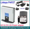 Linksys PAP2T Internet Phone Adaptor 2 Port unlocked