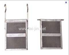 Manufacture of Titanium Mesh Basket