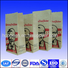 quad seal paper package