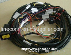 Household appliances wiring harness