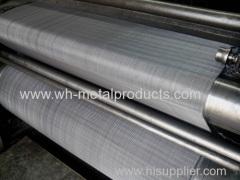 Filtering liquid wire cloth