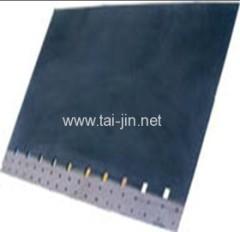 Iridum et l'oxyde de tantale couché Insouble anode en titane pour Feuilles de cuivre