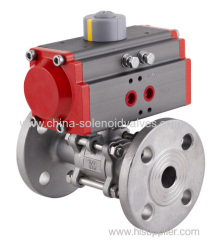 Pneumatic Flange Type Ball Valve