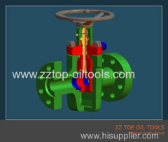 API6A Forged High Pressure Slab Gate valve