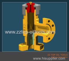 API6A Wellhead Positive choke valve