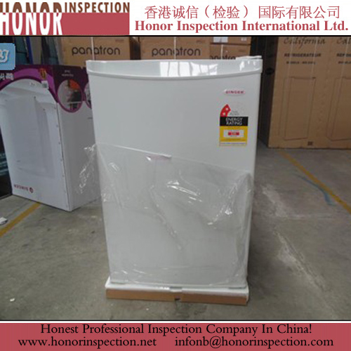 Pre Shipment Inspection Service for Bar Fridge